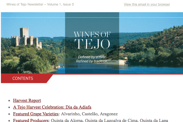 Wines of Tejo: Defined by a River. Refined by Tradition. Issue 1.3