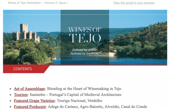 Wines of Tejo: Defined by a River. Refined by Tradition. Issue 2.1